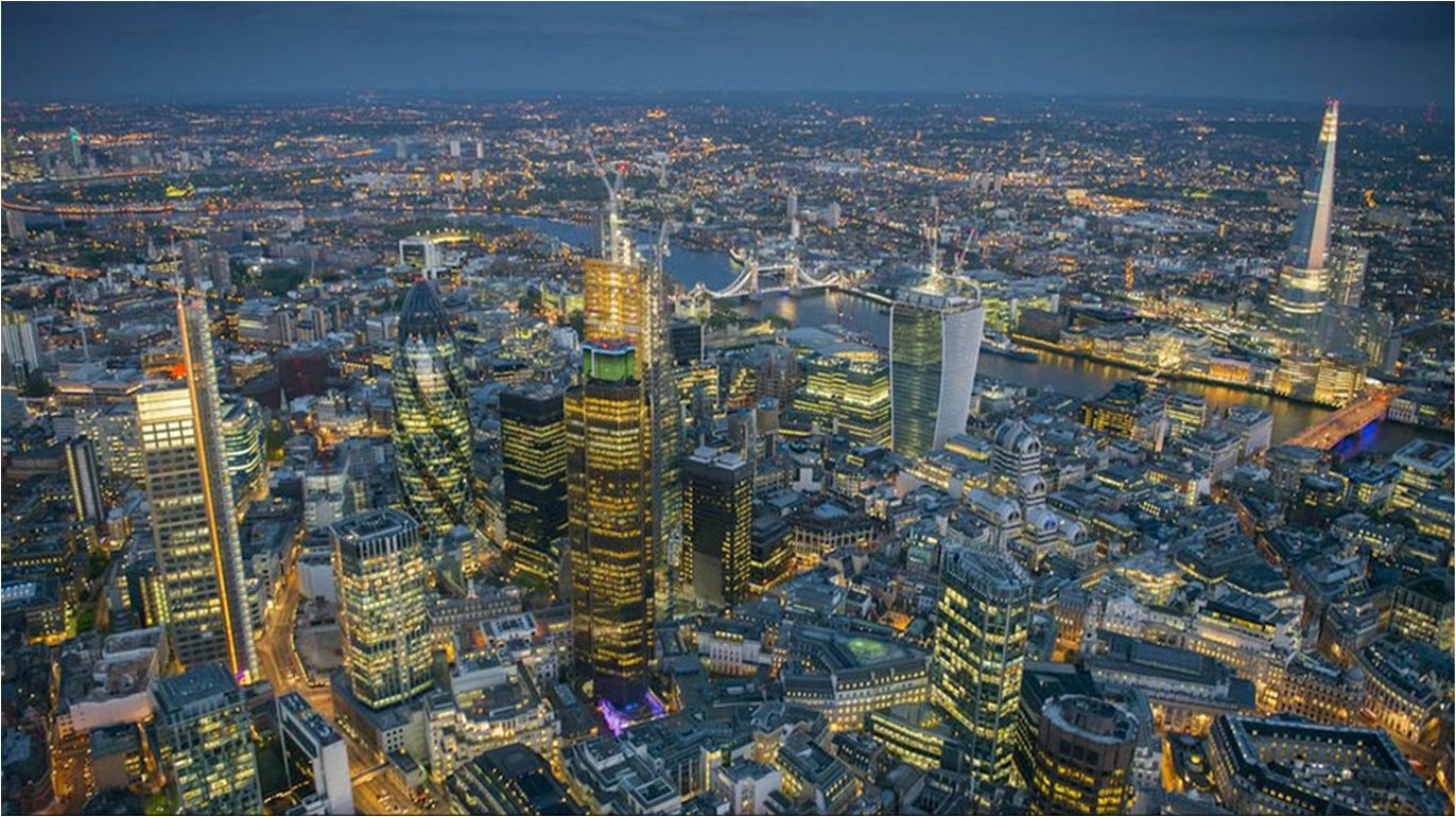 London from the skies – Jason Hawkes Helicopter Photography ...